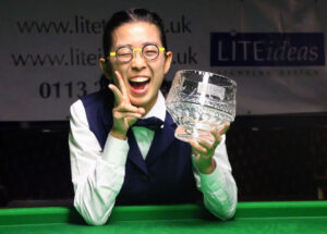 On Yee with UK Trophy