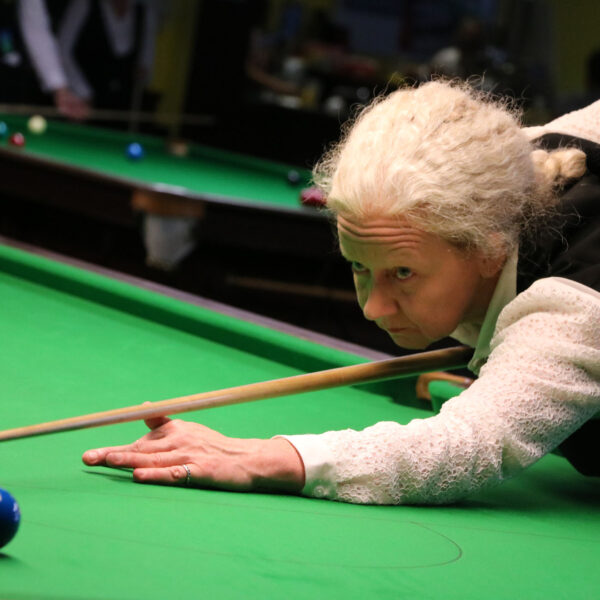 In action at the 2017 Paul Hunter Women's Classic